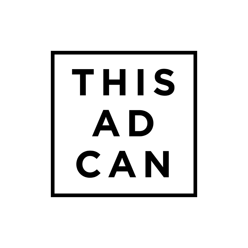 #ThisAdCan logo Advertising Association