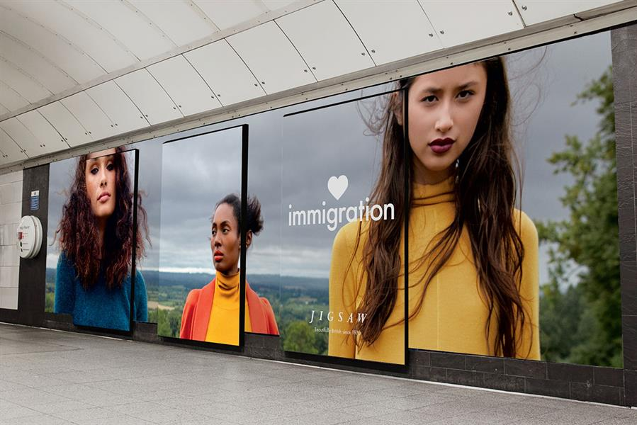 Jigsaw Immigration advertising campaign