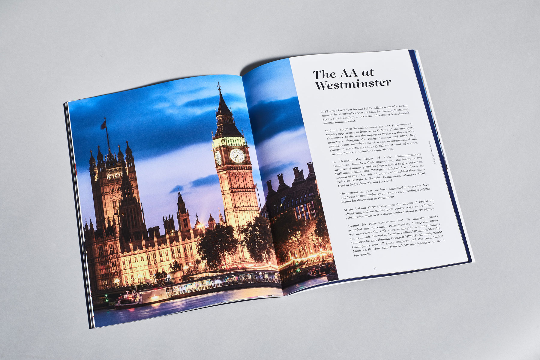 Advertising Association: 2017 Review