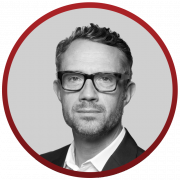 David Pemsel red circle icon